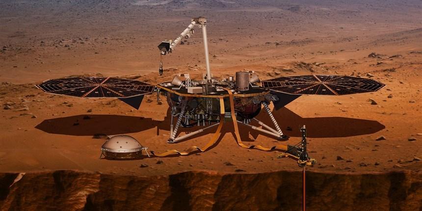 光看表面还不够,美将发射火星内部探测器