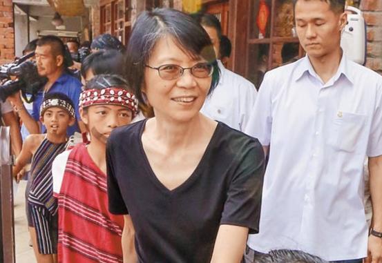 台媒:若马英九遭起诉 周美青不排斥选台北市长!