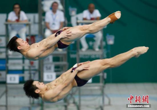 跳水系列赛北京站收官 中国队包揽全部十枚金牌