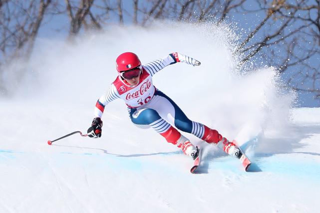 冬残奥会高山滑雪全能 斯洛伐克女将成为三冠王