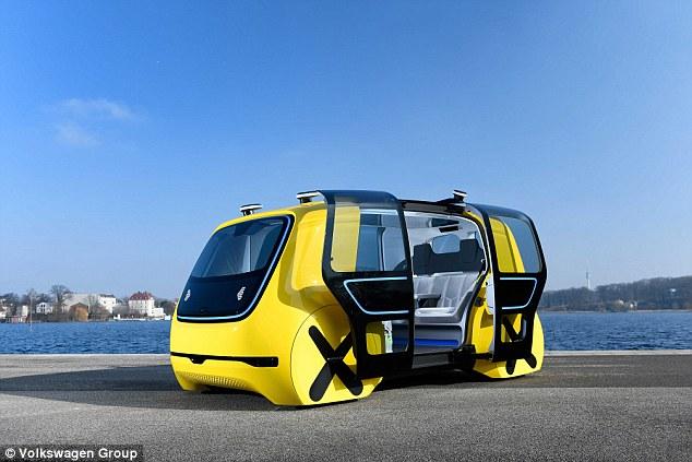 大众宣布sedric纯电动全自动驾驶概念车将投产_汽车