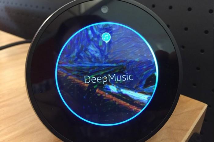 Alexa的新技能DeepMusic:让你听到AI生成的歌曲