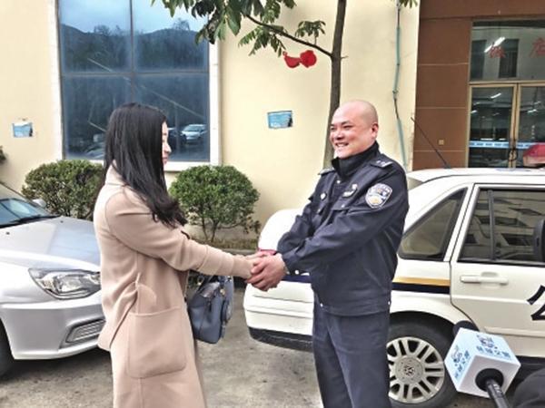 上海女子3岁时福建走失幸得交警寻回,25年后当面谢恩人