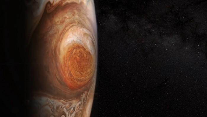 """研究:木星神秘""""大红斑"""" 的垂直长度将变更长"""