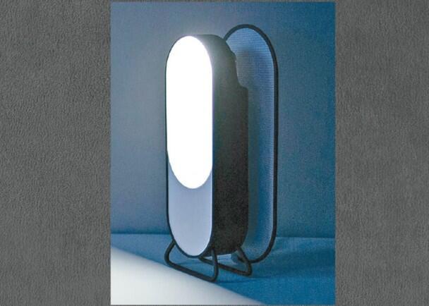 美设计师推床头智能灯 可吸手机蓝光助睡眠