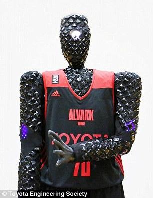 丰田推出AI篮球机器人 投篮命中率接近100%