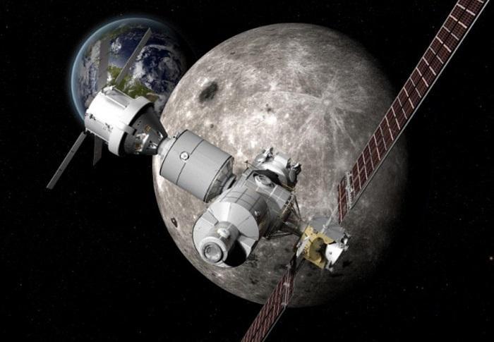 NASA考虑为月球打造一个迷你空间站