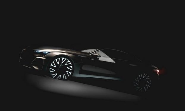 奥迪e-tron GT电动超跑官图曝光 2020年德国投产