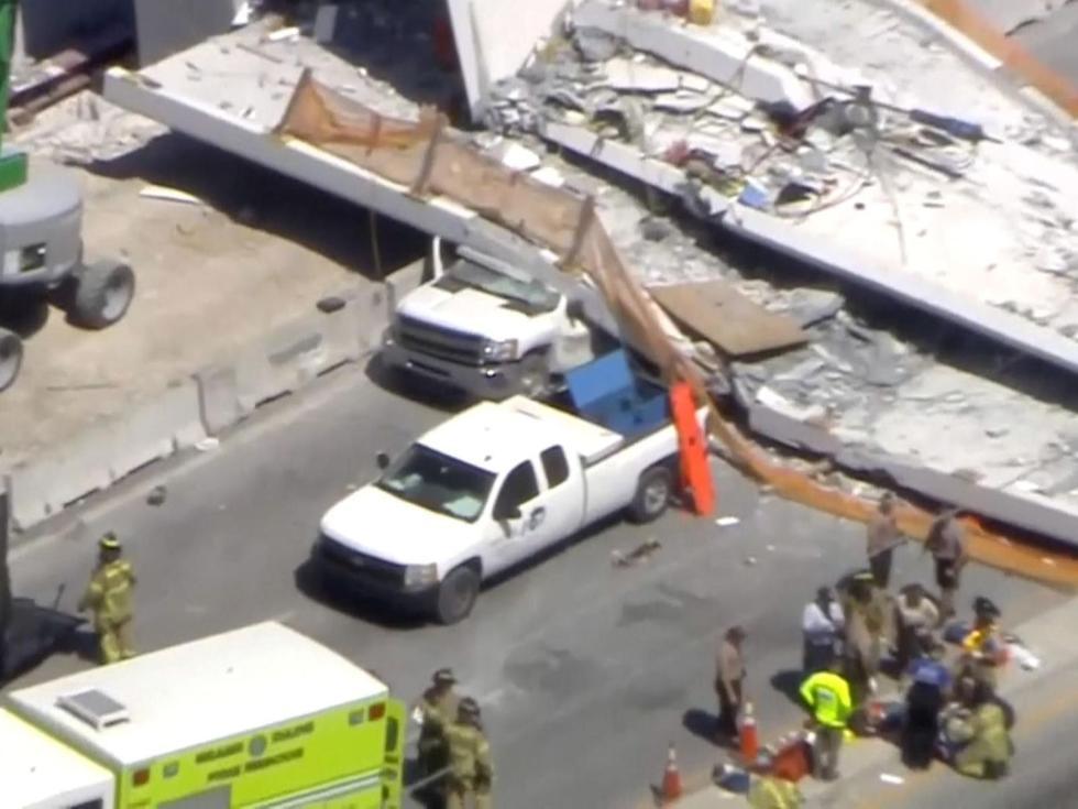 美国一校园发生天桥坍塌事故 遇难者上升至10人