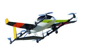 未来出租车能有多炫酷?挂靠无人机飞上天