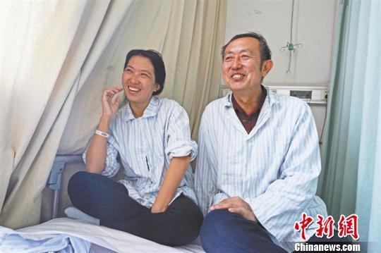 农民老父为女捐肾:别说一个肾,就算拿命换也行
