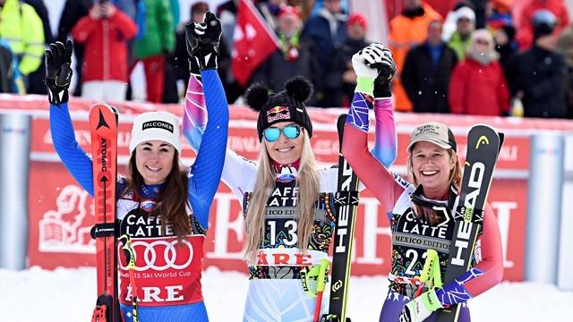 高山滑雪世界杯沃恩第82冠 男子速降产生双黄蛋
