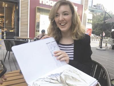 法国姑娘:如果有工作机会,我会留在中国!