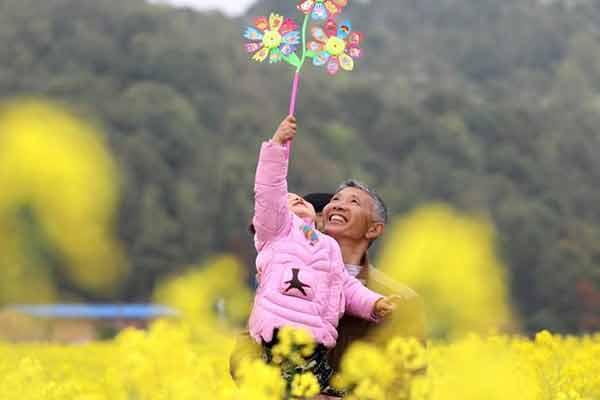 湖南油菜花节开幕