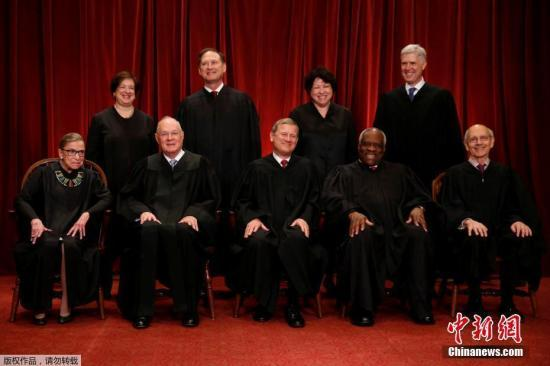 美最高法大法官金斯伯格迎85岁生日 称不打算退休