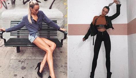 瑞典模特腿长1米走红网络 曾因大长腿被嘲讽