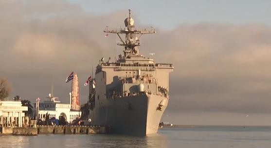 斗法已开始?!俄正在大选投票 美国把军舰开到格鲁吉亚