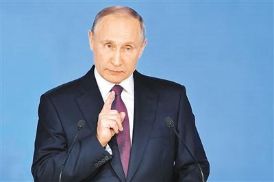 俄中央选举委员会:普京支持率创政治生涯新高