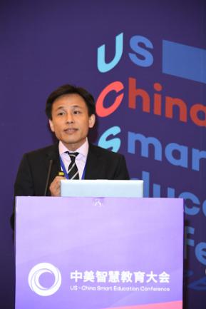 网龙CEO熊立:赴美开展产学研合作 促进中美智慧教育交流