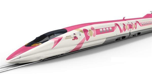 日本JR今夏将推出Hello Kitty粉嫩主题新干线