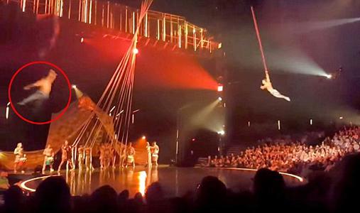 加拿大高空杂技演员表演中脱手不幸遇难
