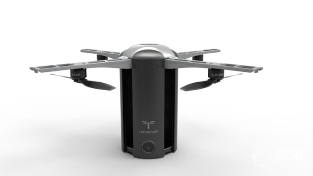 可折叠无人机LeveTop来了:精准定位、超便携