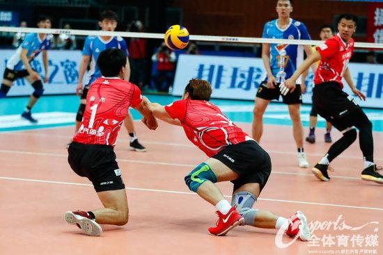 中国男排超级联赛 北京上海再次会师决赛