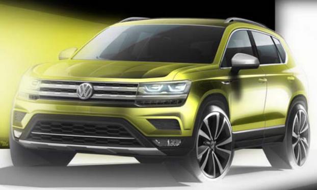 大众全新紧凑型SUV/跨界车 首先面对中美市场发售