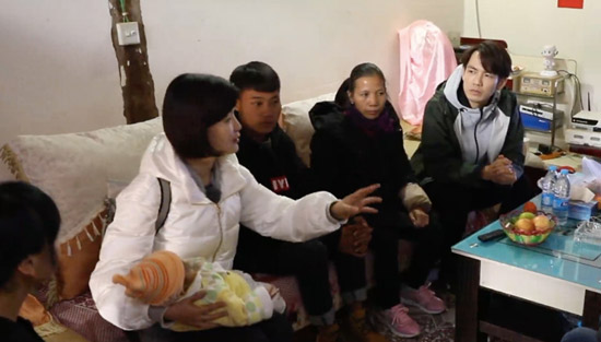 《我们在行动》陈蓉钟汉良传递脱贫观念遍访全村