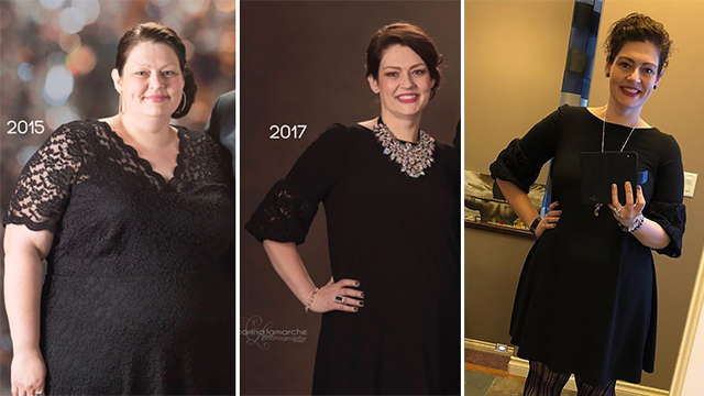 她2年减掉了上百斤 只因做了这三件事!