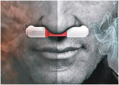 韩国设计师推超小型鼻塞 火灾时可助过滤浓烟