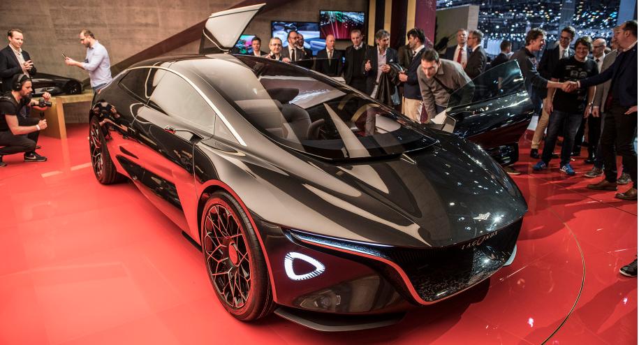 未来感十足 Lagonda或发SUV车型