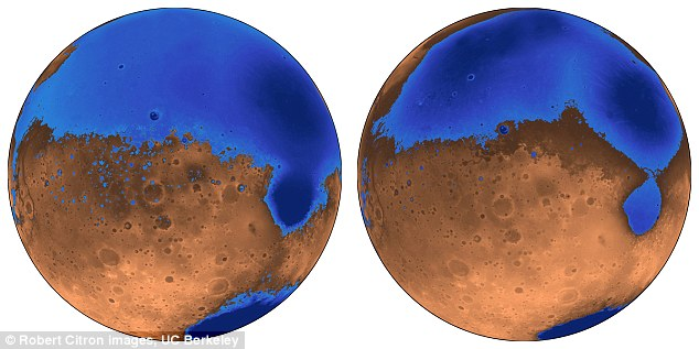 火星海洋诞生源自火山爆发 比预期早3亿年形成