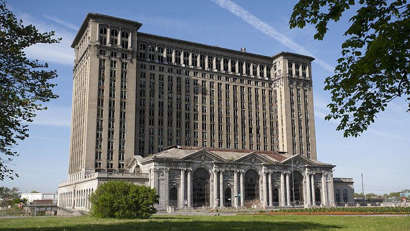 福特想搬家 看上了底特律著名废弃建筑