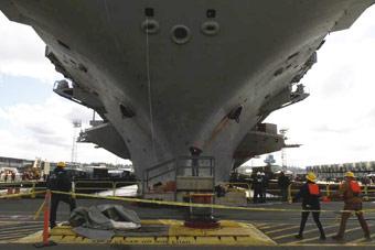 趴窝15个月!美军服役时间最长核动力航母大修