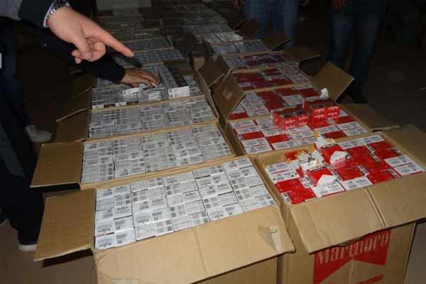 广西警方中越边境侦破特大非法走私香烟案 案值达6亿余元