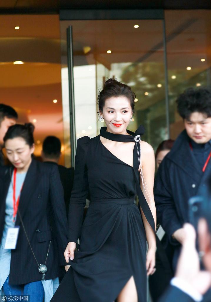 微微一笑很倾城 刘涛低眉浅笑从容大气