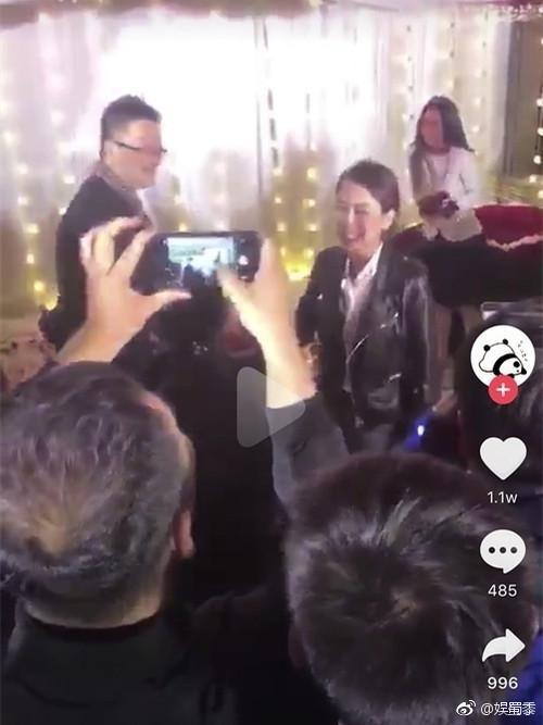 姚笛被求婚视频曝光 马苏现身网友议论纷纷