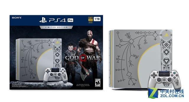 帅出天际 索尼推《战神4》PS4 Pro限量主机
