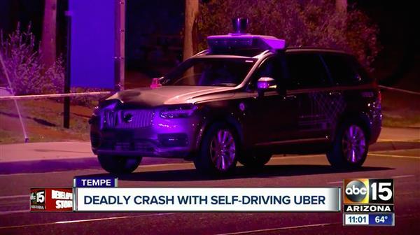 自动驾驶汽车导致行人死亡 这不仅是Uber的危机