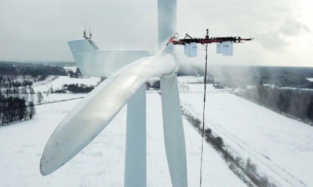 Aerones打造大型无人机 可清洁涡轮机甚至执行救援