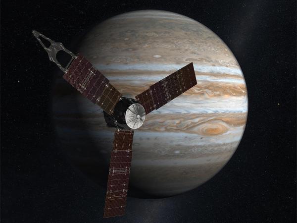 """""""朱诺""""号最新发现:木星大气约占木星总质量1%"""