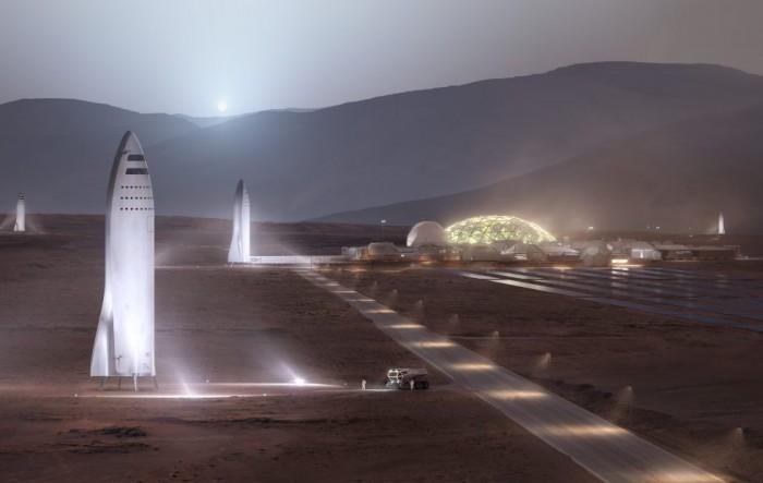SpaceX可能在洛杉矶建造BFR火星火箭
