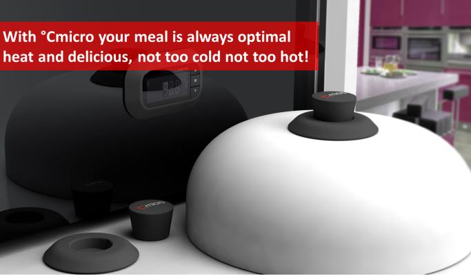 监控温度 温度传感器使微波加热食物更复杂