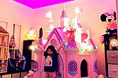 赞!美舞台工为女儿布置迪士尼烟花主题卧室
