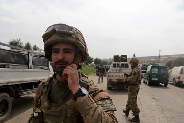 土耳其称将向叙利亚阿夫林以东地区进军