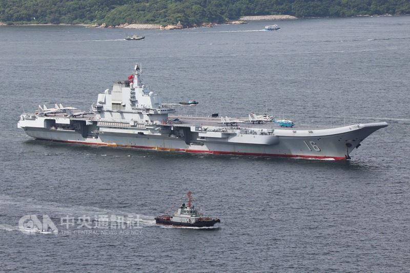 轻车熟路!台防务部门负责人:辽宁舰航母编队20日进入台湾海峡