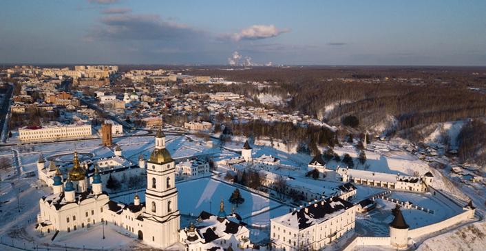 来自北方的洁白城堡 俄罗斯托博尔斯克克里姆林城堡