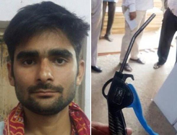 印度一工人被同事恶作剧身体插入高压气管后死亡