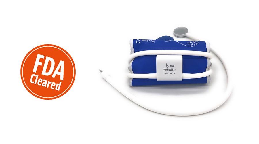 美国FDA批准全球首个手机听诊血压计